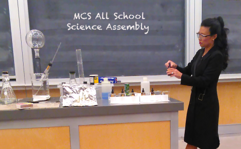 All School Science Assembly