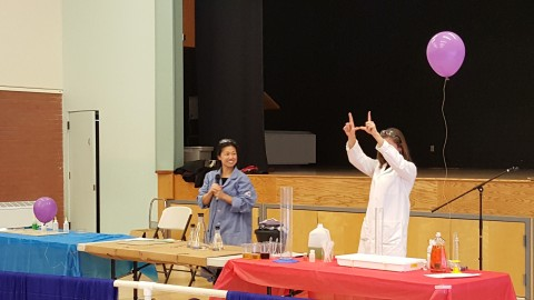 All School Science Assembly - SCIENCE IS COOL!
