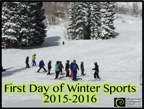 First Day of Winter Sports 2015 - 2016