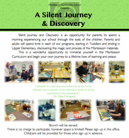 Silent Journey 2016 is quickly approaching.  Sign up now!