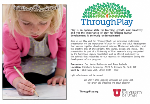 ThroughPlay - U of U Study