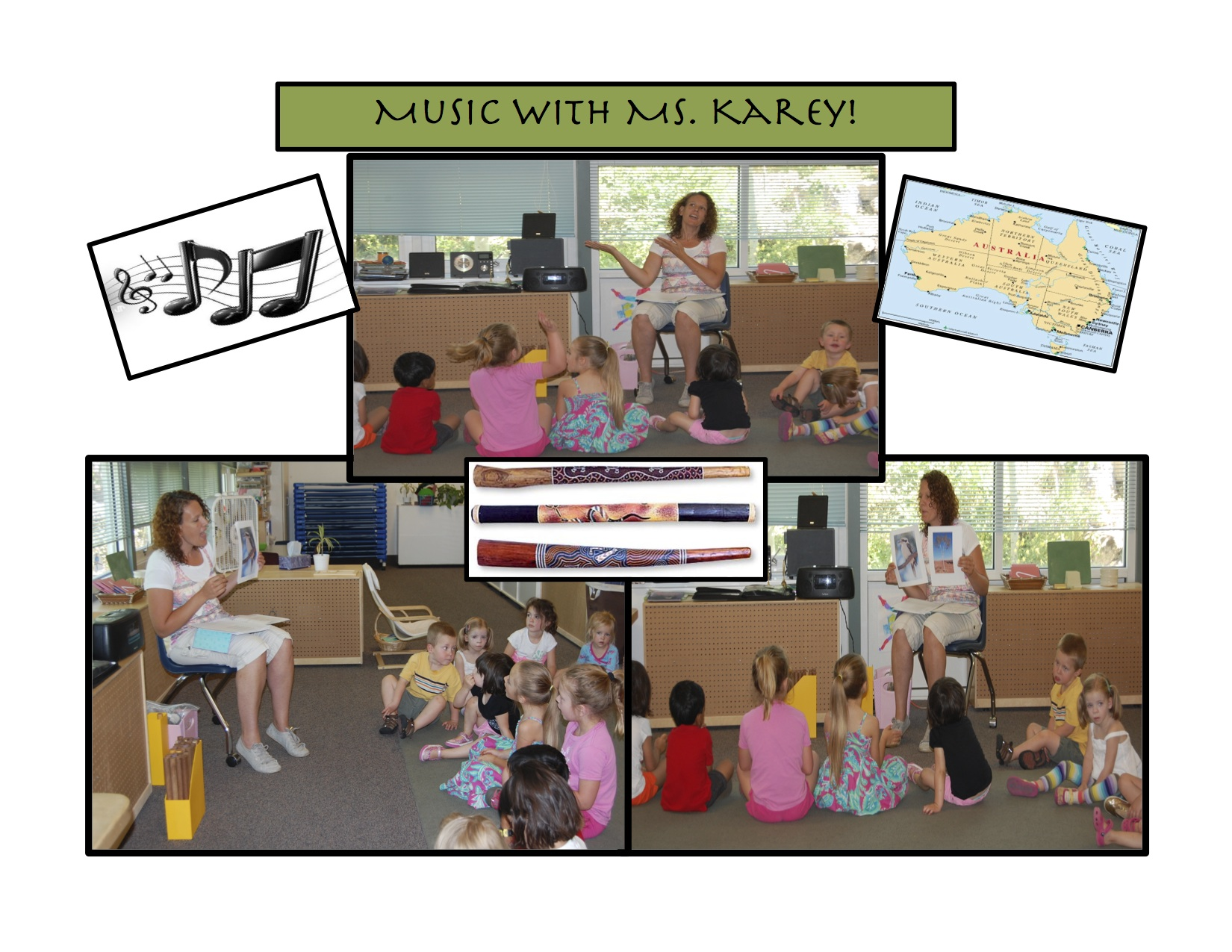 Music Class with Ms. Karey!