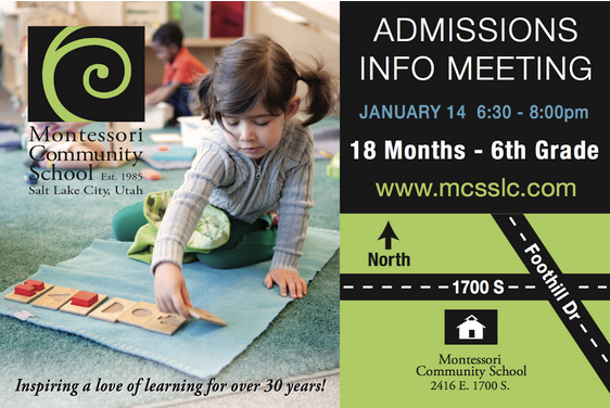 Admissions Information Meeting - Open to the Public