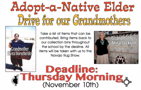 Service Learning: Navajo Rug Show