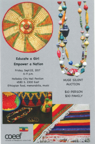 Educate a Girl, Empower a Nation: A COEEF Event