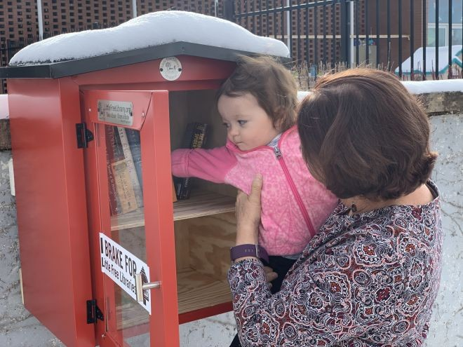 MCS- Now Steward to a Little Free Library