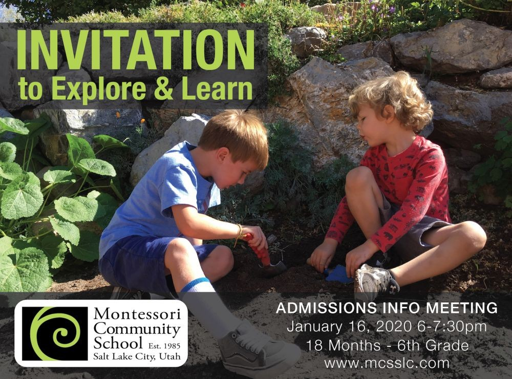 General Admissions Information - An Invitation to the Public
