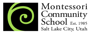 Admissions Information - An Overview of the Montessori Education