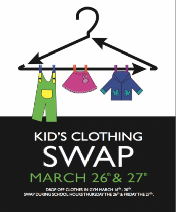 MCS' Annual Kid's Clothing Swap