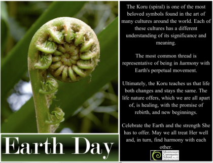 MCS Recognizes Earth Day