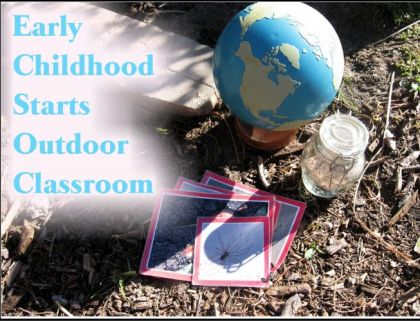 Early Childhood Commences Outdoor Classroom