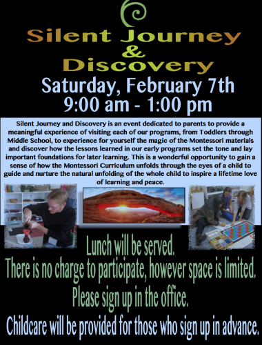 Silent Journey and Discovery 2015