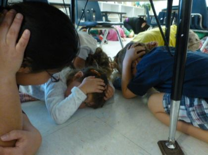 Earthquake Drill Success!