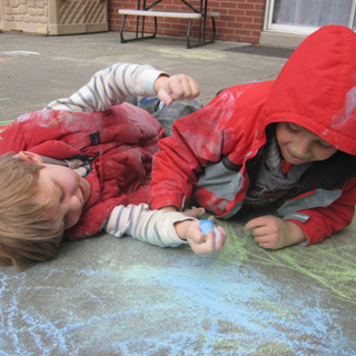 extended day sidewalk chalk